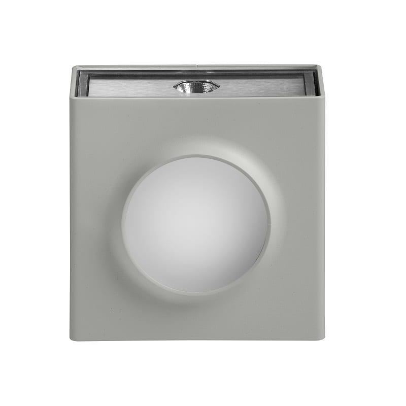 Applique extérieure led Klint version n°1 4500K gris soie RAL 7044 - Roger Pradier® - 167002105
