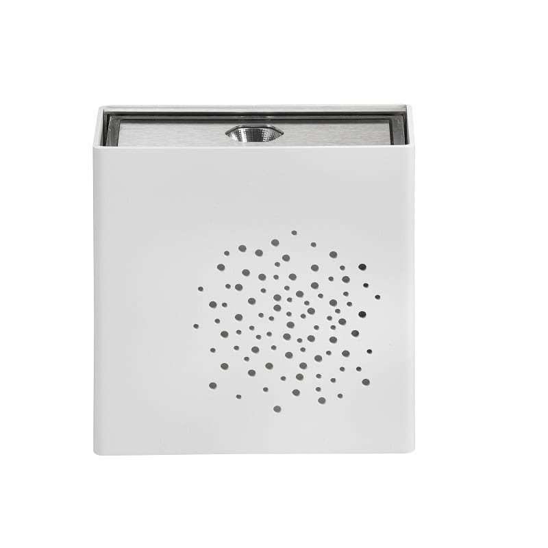 Applique extérieure led Klint version n°3 3300K blanc pur RAL 9010 - Roger Pradier® - 167005101