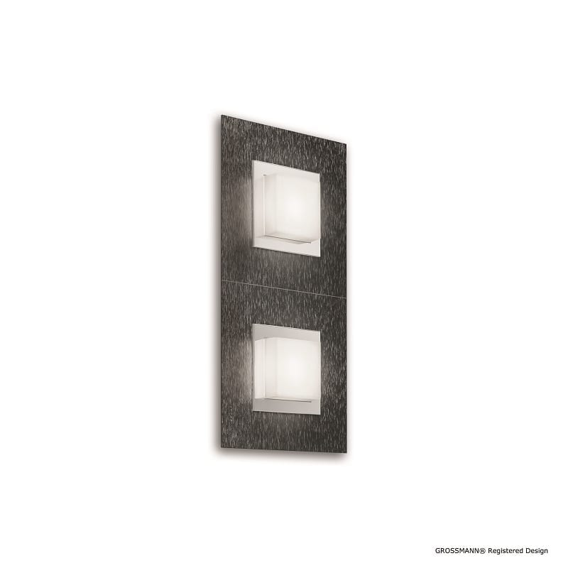 Applique ou plafonnier Grossmann led anthracite Basic 2 lumières - 46498 - 52-790-019