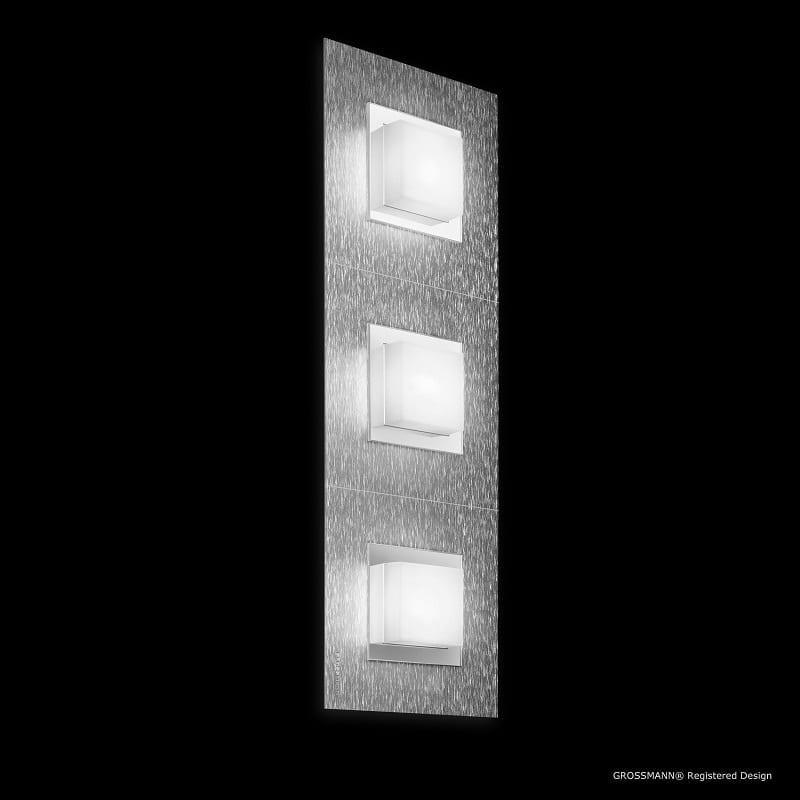 Plafonnier Grossmann led aluminium Basic 3 lumières - 46503 - 73-790-072