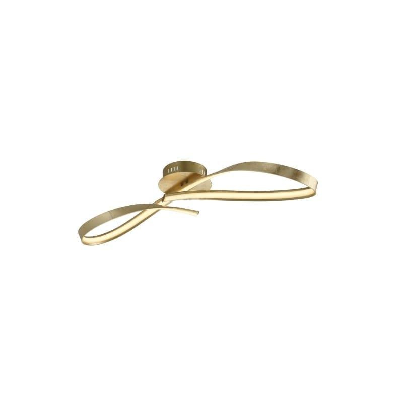 plafonnier Indice doré à la feuille led - 041609
