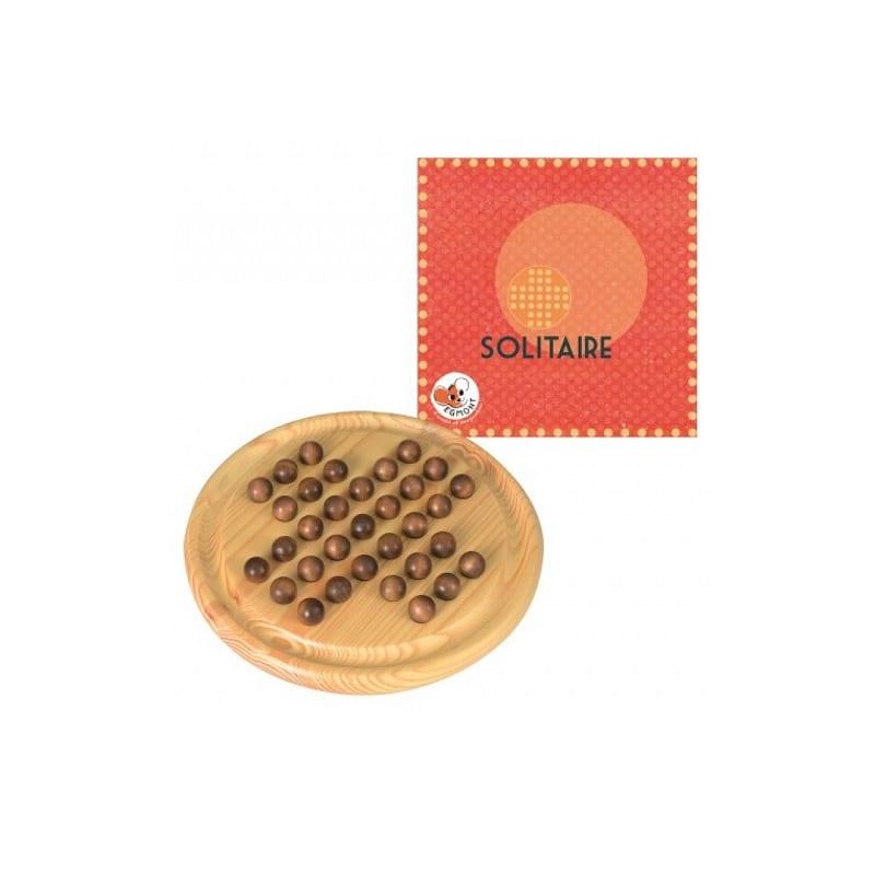 Jeu classique en bois pour enfant - le solitaire - 47695 - 570141