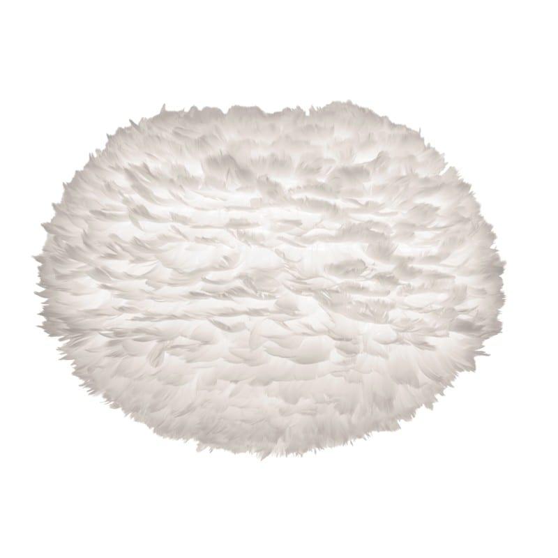 Abat-jour plumes d'oies Eos large 65 cm blanche Umage - 2042