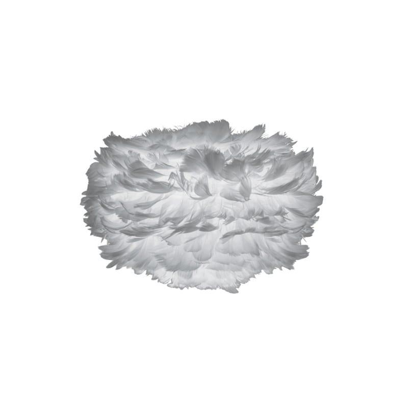 Abat-jour plumes d'oies Eos mini 35 cm gris Umage - 2124