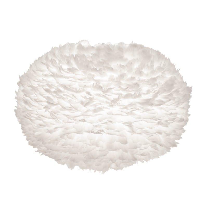 Abat-jour plumes d'oies Eos x-large 75 cm blanche Umage - 2012