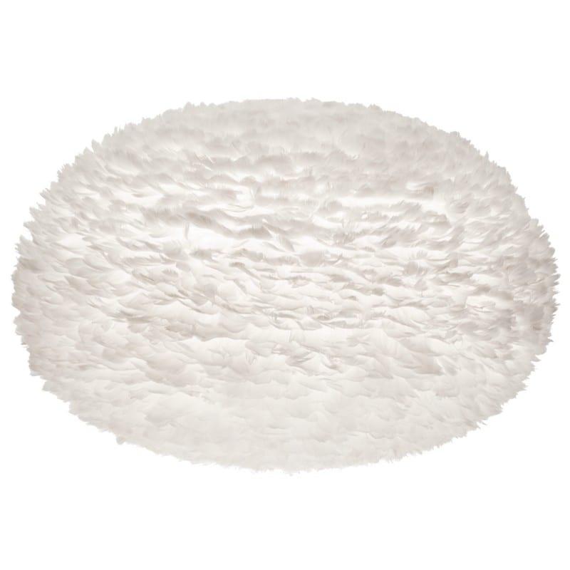 Abat-jour plumes d'oies Eos xx-large 110 cm blanche Umage - 2041