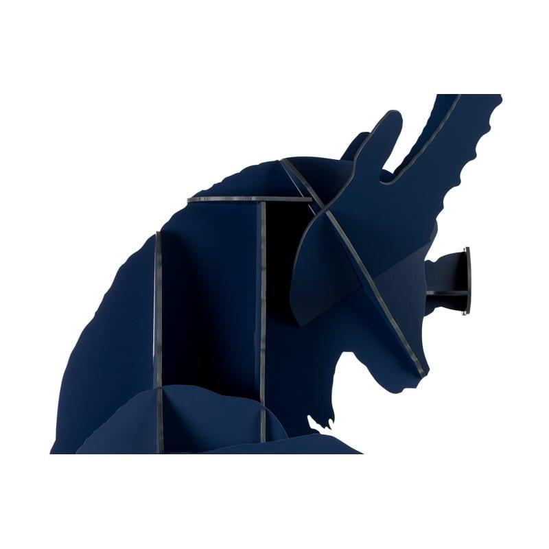 détail Etagère Fausto bouqetin bleu nui mat Ibride - 47979