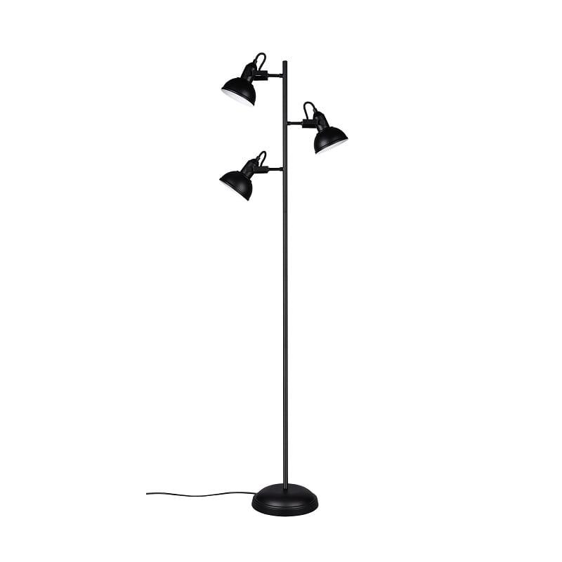 Lampadaire Gina noir mat 3 lumières - 49497 - R41153032