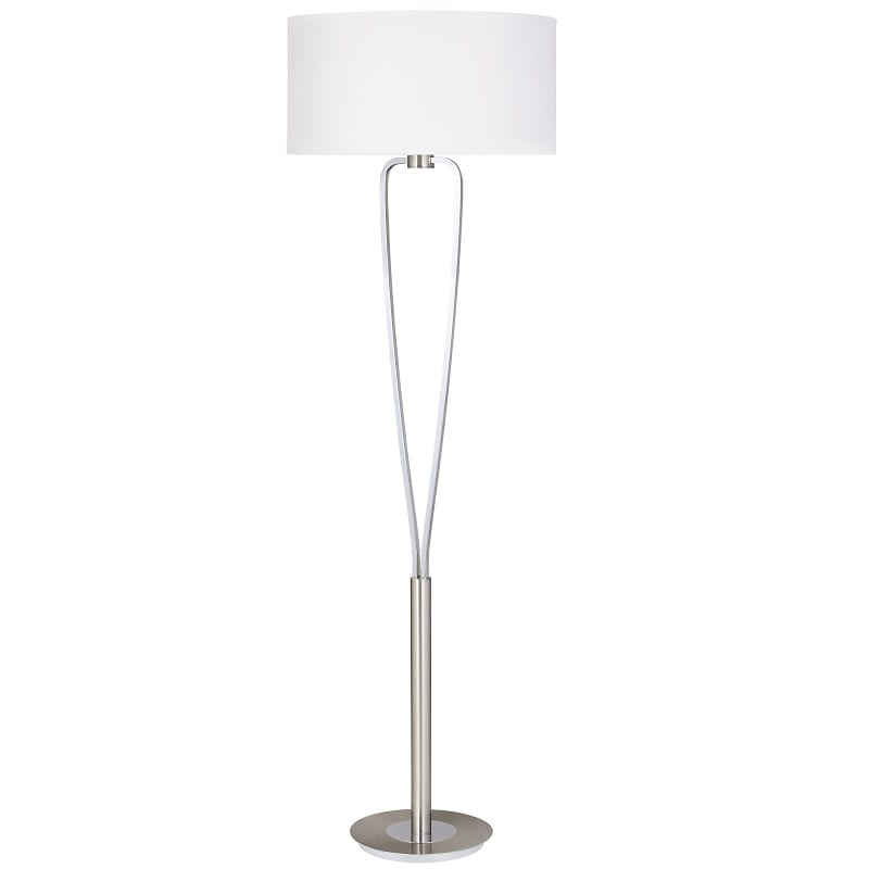 Lampadaire Paris II nickel mat - 48958 - 400200107