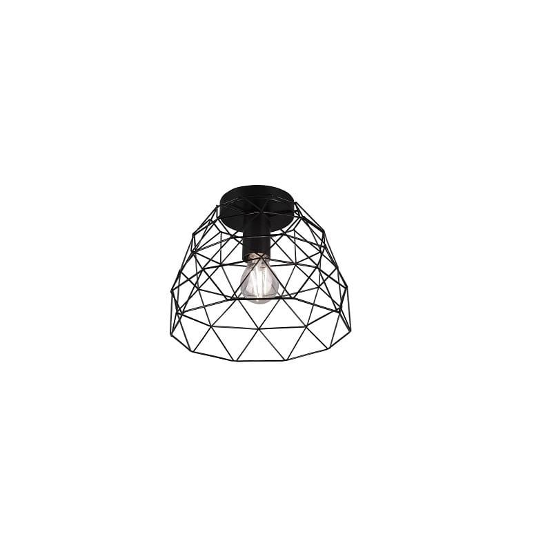 Plafonnier Haval noir mat - 49417 - R60711032