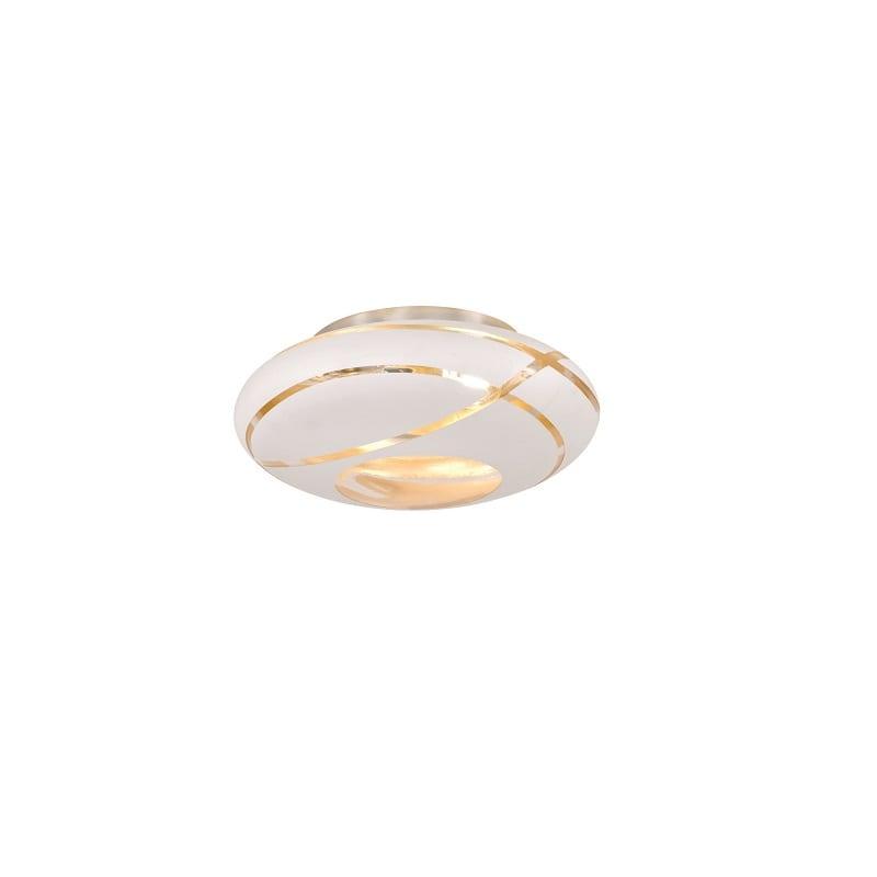 Plafonnier en verre Faro blanc mat - 48934 - 606100231